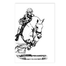 show jumping horse Postcards (Package of 8)