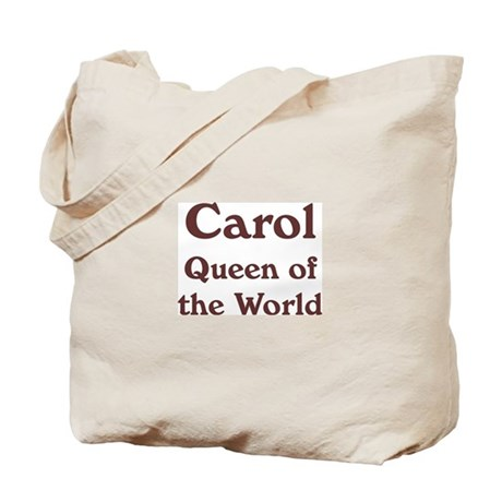 Personalized Carol Tote Bag