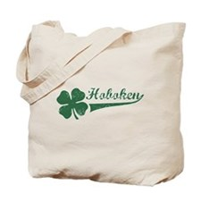 Hoboken NJ Shamrock Tote Bag