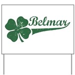 Belmar NJ Shamrock Yard Sign