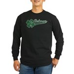 Belmar NJ Shamrock Long Sleeve Dark T-Shirt