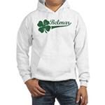 Belmar NJ Shamrock Hooded Sweatshirt