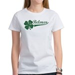 Belmar NJ Shamrock Women's T-Shirt