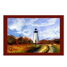 Cape Pogue Lighthouse Postcards (Package of 8)