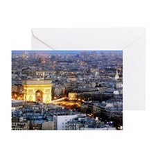 Paris Arc de Triomphe Greeting Cards (Pk of 10)