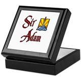 Sir Adam Keepsake Box