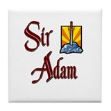 Sir Adam Tile Coaster