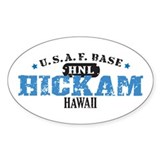 Hickam Air Force Base Oval Decal