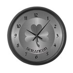 Scranton Irish Wall Clock