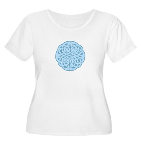 Celtic Knot Women's Plus Size Scoop Neck T-Shirt