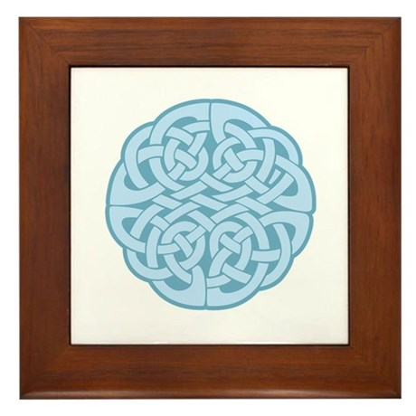 Celtic Knot Framed Tile