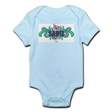 Sadie's Butterfly Name Infant Creeper
