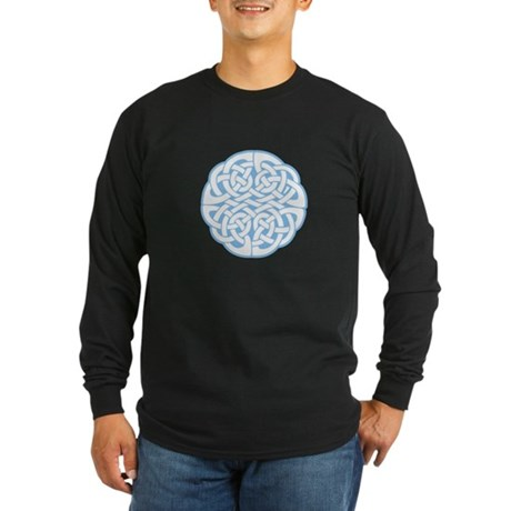 Celtic Knot 2 Long Sleeve Dark T-Shirt