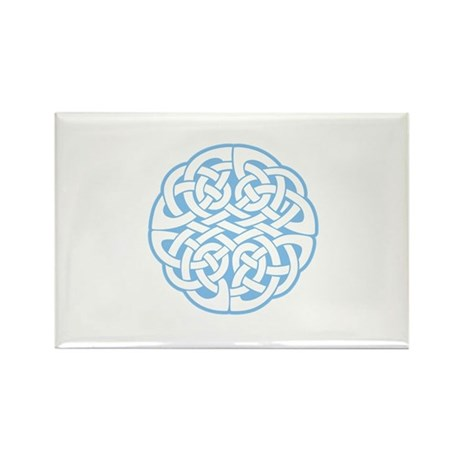 Celtic Knot 2 Rectangle Magnet