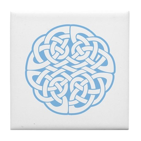 Celtic Knot 2 Tile Coaster
