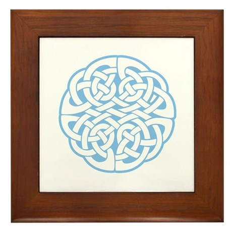 Celtic Knot 2 Framed Tile