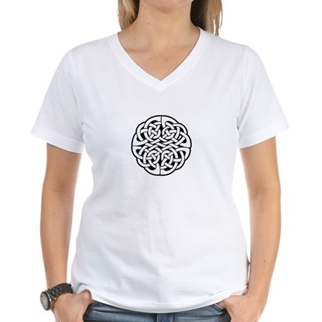 Celtic Knot 3 Women's V-Neck T-Shirt