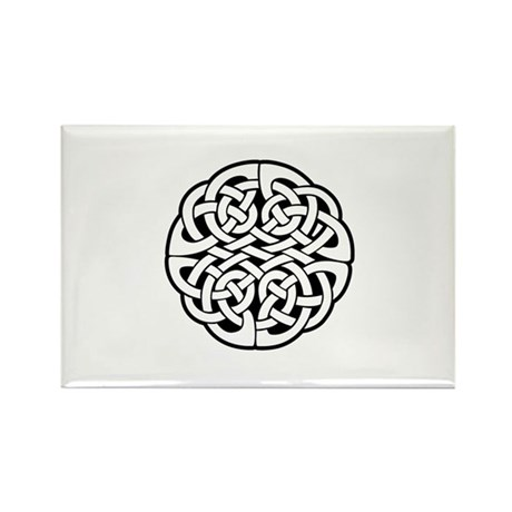 Celtic Knot 3 Rectangle Magnet (10 pack)