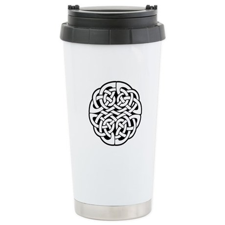 Celtic Knot 3 Ceramic Travel Mug
