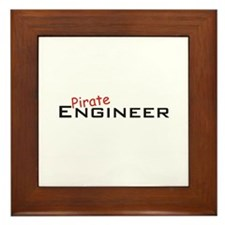 Pirate Engineer Framed Tile