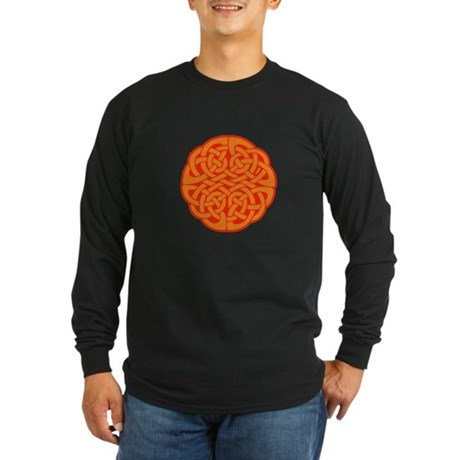 Celtic Knot 4 Long Sleeve Dark T-Shirt