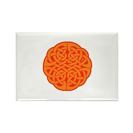 Celtic Knot 4 Rectangle Magnet