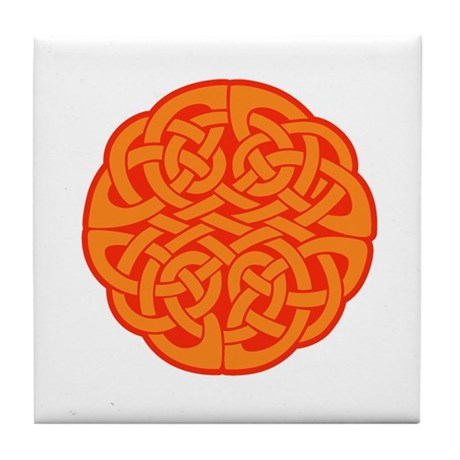 Celtic Knot 4 Tile Coaster