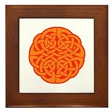 Celtic Knot 4 Framed Tile