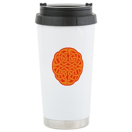 Celtic Knot 4 Ceramic Travel Mug