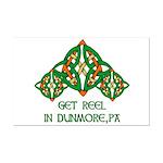 Get Reel In Dunmore Mini Poster Print