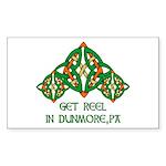 Get Reel In Dunmore Rectangle Sticker 50 pk)