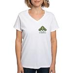 Get Reel In Dunmore Women's V-Neck T-Shirt