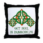 Get Reel In Dunmore Throw Pillow