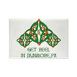 Get Reel In Dunmore Rectangle Magnet
