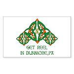 Get Reel In Dunmore Rectangle Sticker