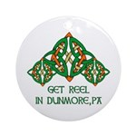 Get Reel In Dunmore Ornament (Round)