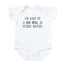 Big deal in Cedar Rapids Infant Bodysuit