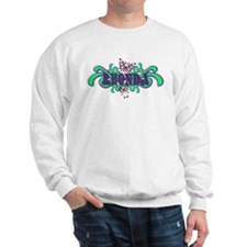 Rhonda's Butterfly Name Sweatshirt