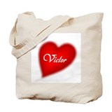 I love Victor Tote Bag