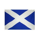 Scotland St Andrews Flag Rectangle Magnet (100 pac
