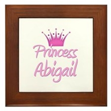 Princess Abigail Framed Tile