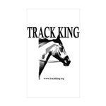 Track King Rectangle Sticker 10 pk)