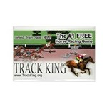 Track King Rectangle Magnet