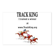 Track King Postcards (Package of 8)