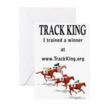 Track King Greeting Cards (Pk of 10)
