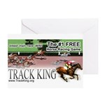 Track King Greeting Card