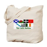 Celtic Nations Tote Bag