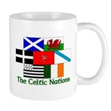 Celtic Nations Small Mug