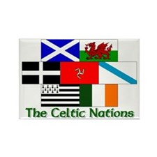 Celtic Nations Rectangle Magnet (10 pack)