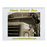 Manic School Bus Calendar